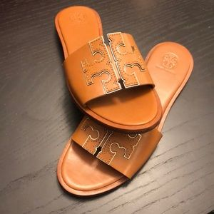 Tory Burch Ines Slides, size 7.5